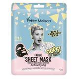 Mască de față Petite Maison detoxifying, 25 ml