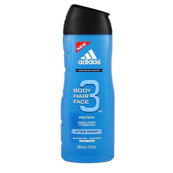 Gel de dus sampon pentru barbati Adidas Sport Energy 3 in 1 250ml imagine