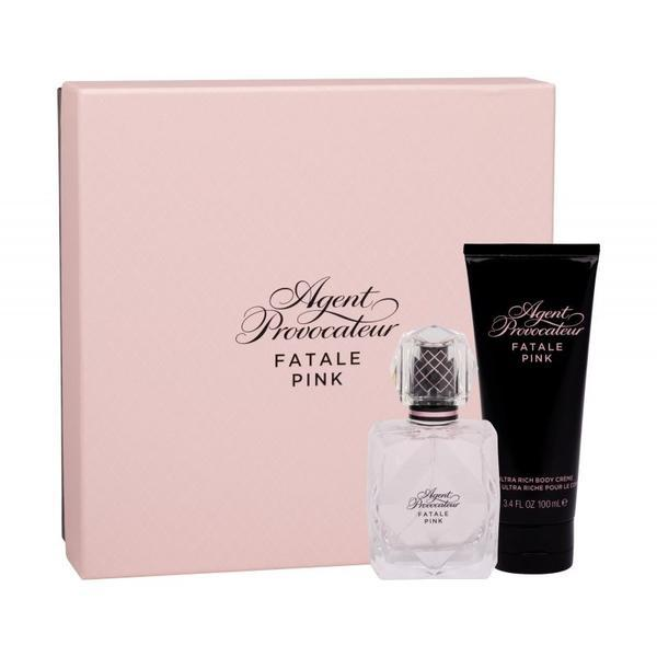 Set cadou Agent Apă de parfum 50ml + Crema 100ml - Provocateur Pink Fatale esteto.ro