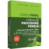 Codul penal si codul de procedura penala. Septembrie 2020 - Dan Lupascu, editura Universul Juridic
