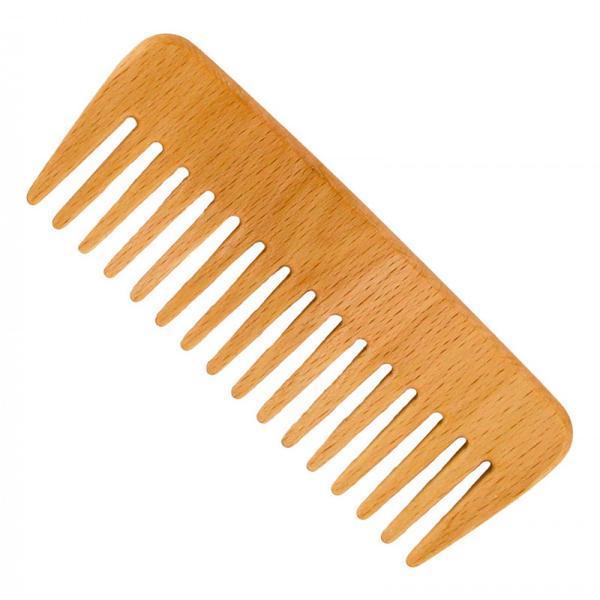 Pieptene din lemn de fag - pentru păr ondulat - Förster's Natural Products imagine produs