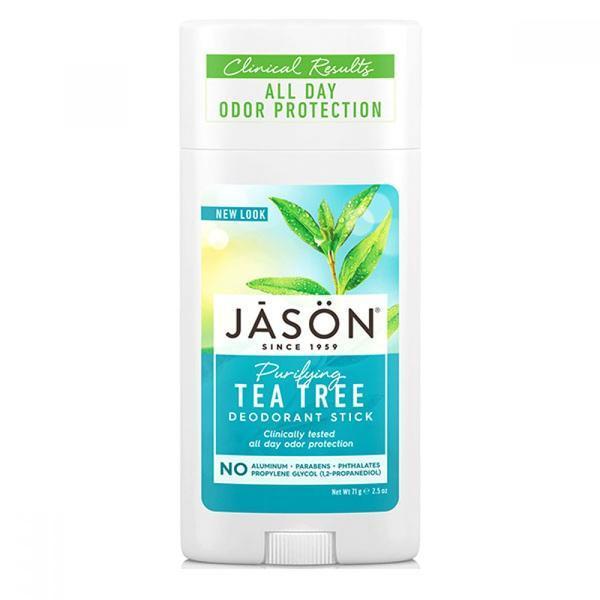 Deodorant stick antibacterian cu tea tree Jason 71g