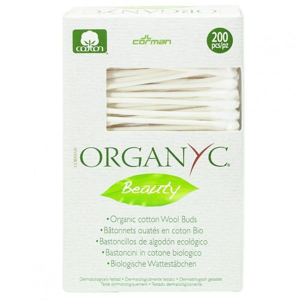 Betisoare cu bumbac organic Organyc 200 buc imagine produs