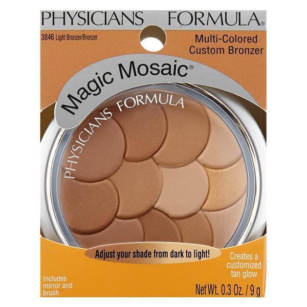 Fard de obraz Physicians Formula Magic Mosaic Multi-Colored Light Bronzer/Bronzer 9g imagine