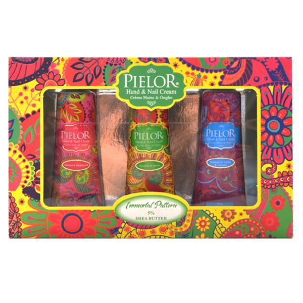 Set cremă de mâini Pielor Immortal Pattern Green, 3 buc X 30 ml imagine produs