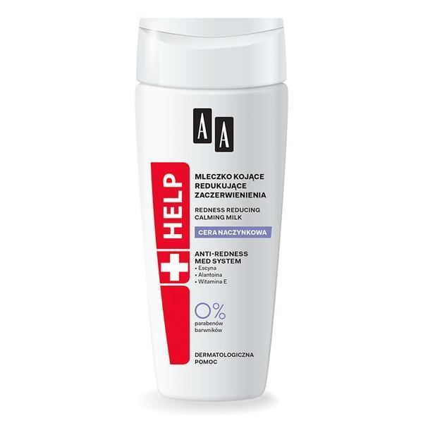 SHORT LIFE - Lapte demachiant piele predispusa la inrosire AA Help - 200 ml imagine