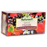 SHORT LIFE - Ceai Fructe de Padure Naturavit, 20 doze x 1,5 g