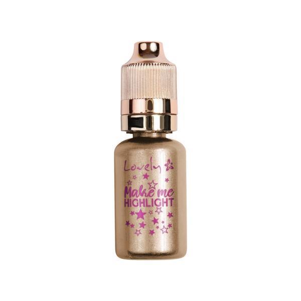 Lichid iluminator Lovely make me highlight gold nr.2, 17 ml imagine produs