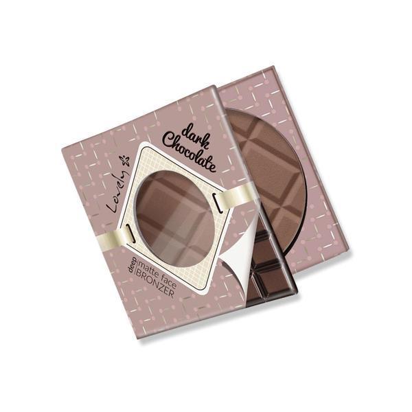Pudră mată, bronzantă Lovely Dark Chocolate, 9 g imagine produs