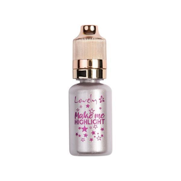 Lichid iluminator Lovely make me highlight silver nr.1, 17 ml imagine produs