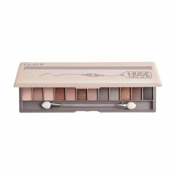 Fard pentru ochi, paleta Lovely Nude Make Up Kit, 13 g imagine produs