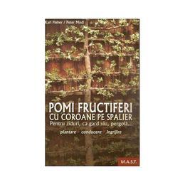 Pomi fructiferi cu coroane pe spalier - Karl Pieber, editura Mast