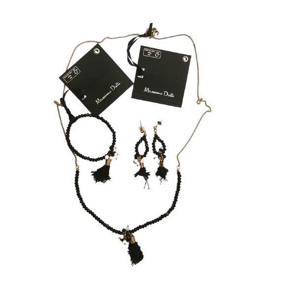 Set bijuterii Massimo Dutti (colier, cercei, bratara)