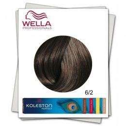 Vopsea Permanenta - Wella Professionals Koleston Perfect nuanta 6/2 blond inchis mat