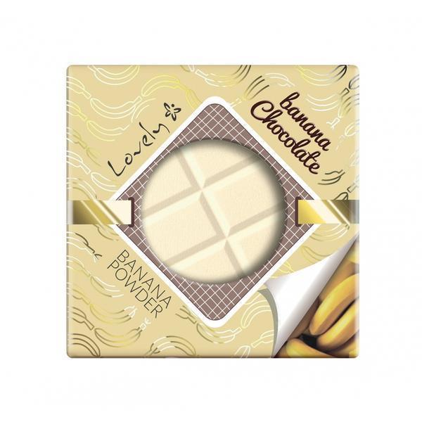 Pudra de fata Lovely Banana Chocolate, 9 g imagine produs