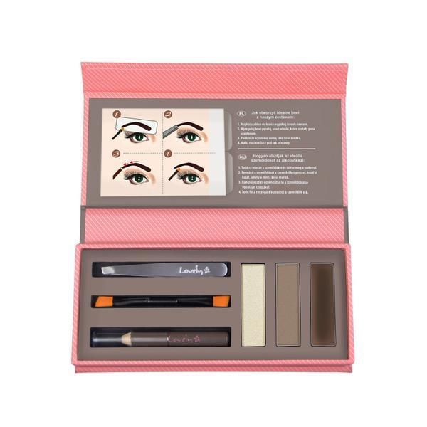 Kit pentru stilizarea sprâncenelor Lovely eyebrows creator imagine