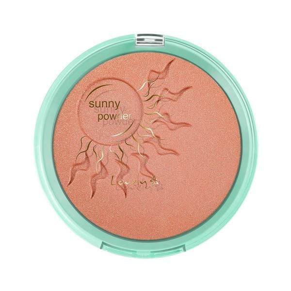 Pudra bronzanta Lovely Sunny Gold, 16 g imagine produs
