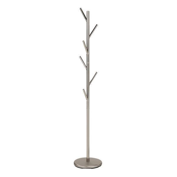 Cuier pom cromat HM W61, 173 x 30 cm, argintiu