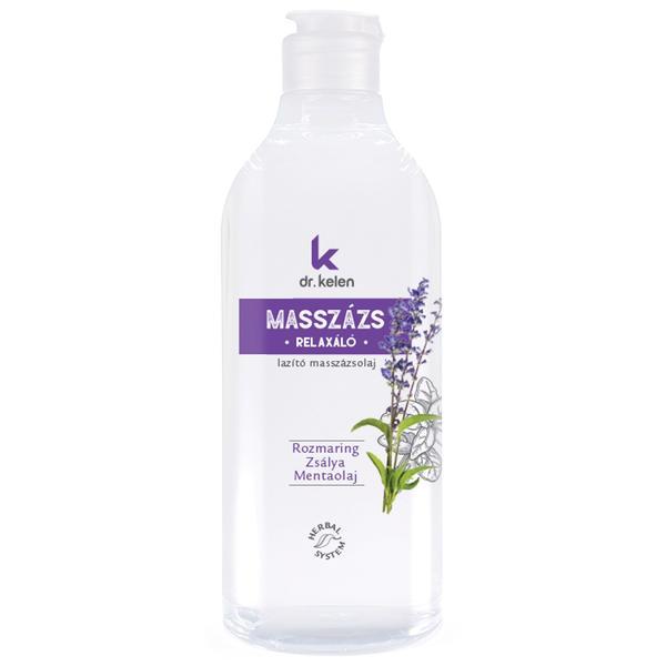 Ulei de Masaj Relaxant Dr.Kelen, 500 ml