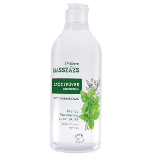 Ulei Masaj Plante Medicinale Dr. Kelen, 500 ml