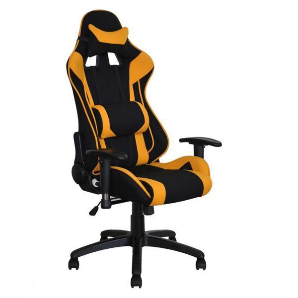 Scaun gaming SL, Viper, negru/galben