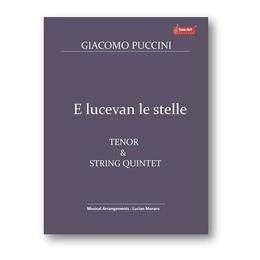 E lucevan le stelle. Tenor and String Quintet - Giacomo Puccini, editura Sonart