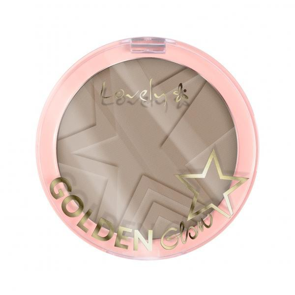 Pudra compacta Lovely Golden Glow New Edition 03, 10 g imagine produs