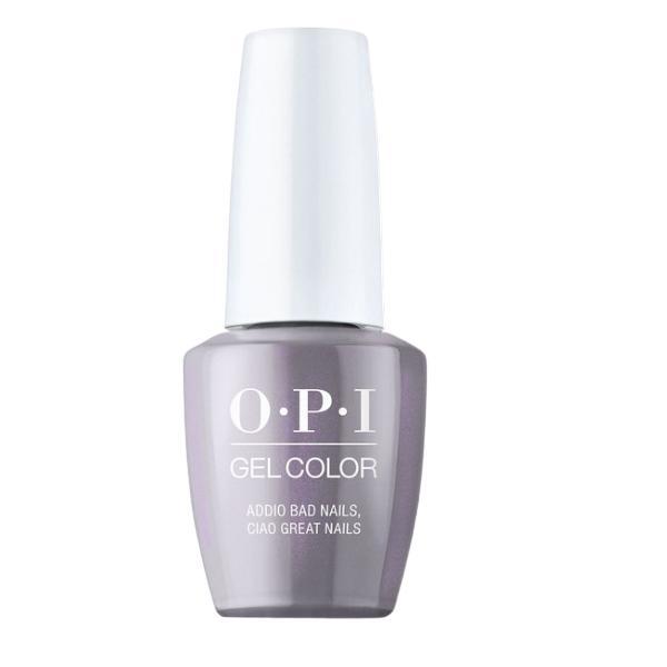 Lac de Unghii Semipermanent - OPI Gel Color Milano Addio Bad Nails Ciao Great Nails, 15 ml