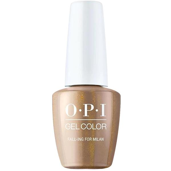 Lac de Unghii Semipermanent - OPI Gel Color Milano Fall-ing for Milan, 15 ml