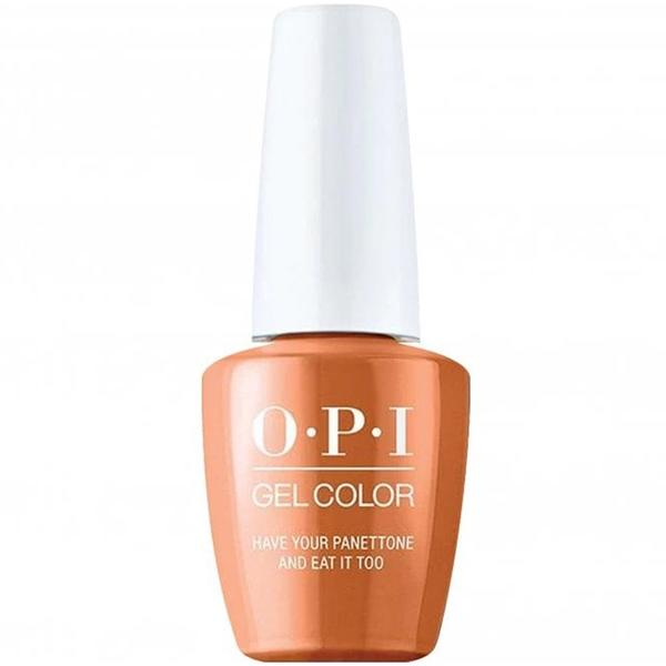 Lac de Unghii Semipermanent - OPI Gel Color Milano Have Your Panettone And Eat It Too, 15 ml