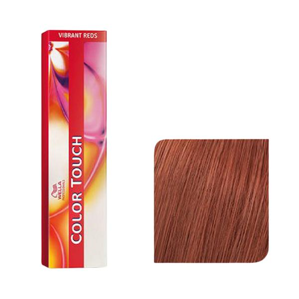 Vopsea fara Amoniac - Wella Professionals Color Touch Vibrant Reds Nuanta 8/41 Blond deschis/ Rosu Cenusiu poza