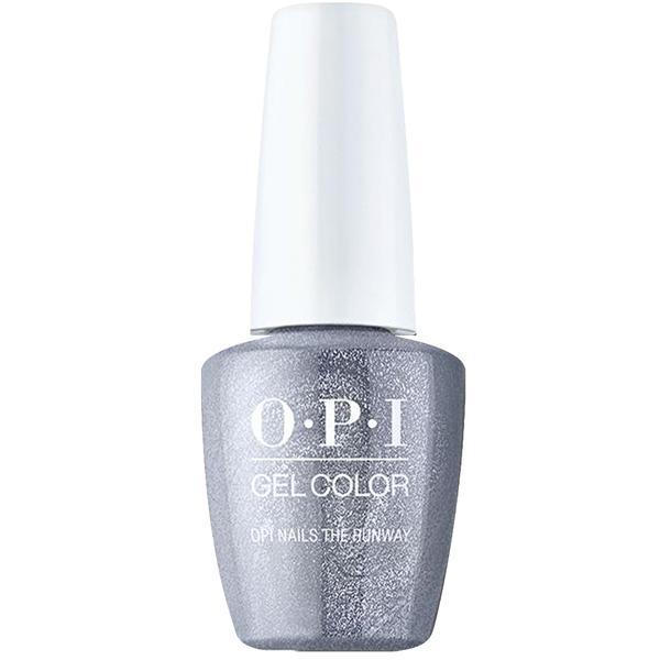 Lac de Unghii Semipermanent - OPI Gel Color Milano Nails the Runway, 15 ml