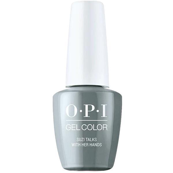 Lac de Unghii Semipermanent - OPI Gel Color Milano Suzi Talks with Her Hands, 15 ml