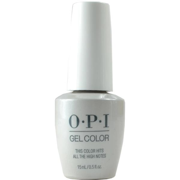 Lac de Unghii Semipermanent - OPI Gel Color Milano This Color Hits All The High Notes, 15 ml