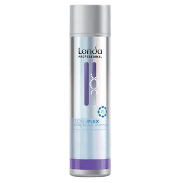 Sampon Nuantator Blond Perlat - Pearl Blonde Shampoo Londa Professional Toneplex, 250 ml imagine