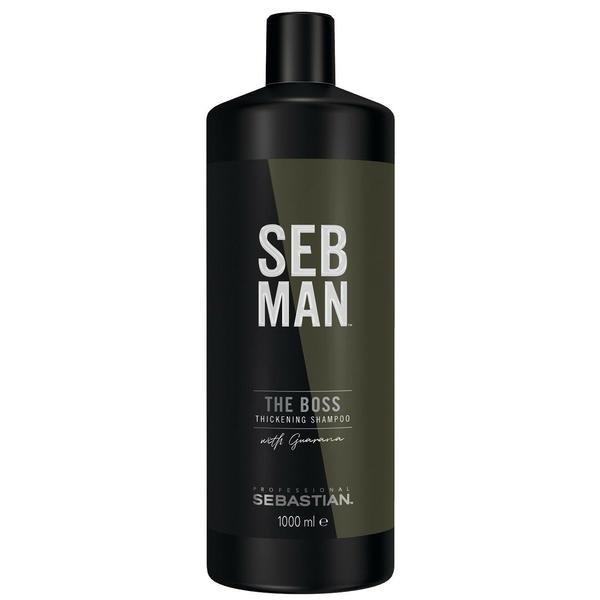 Sampon de Ingrosare - Sebastian Professional SEB Man The Boos Thickening Shampoo, 1000 ml imagine