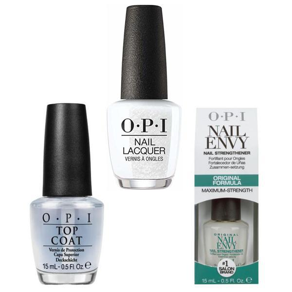 Set - OPI Nail Laquer - Dancing Keeps Me on My Toes - Lac de Unghii Colorat OPI, Baza OPI, Top OPI imagine produs