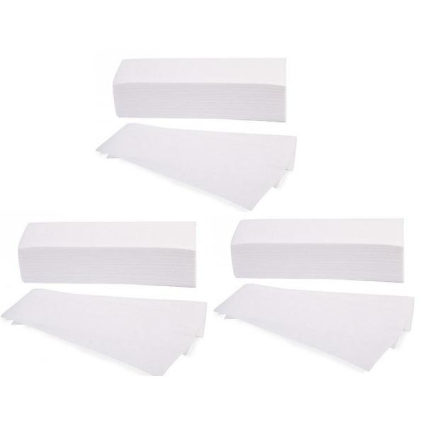 Pachet 3 x Benzi din hartie pentru epilat - Beautyfor Waxing Paper Strips, 100g, 100 buc imagine produs