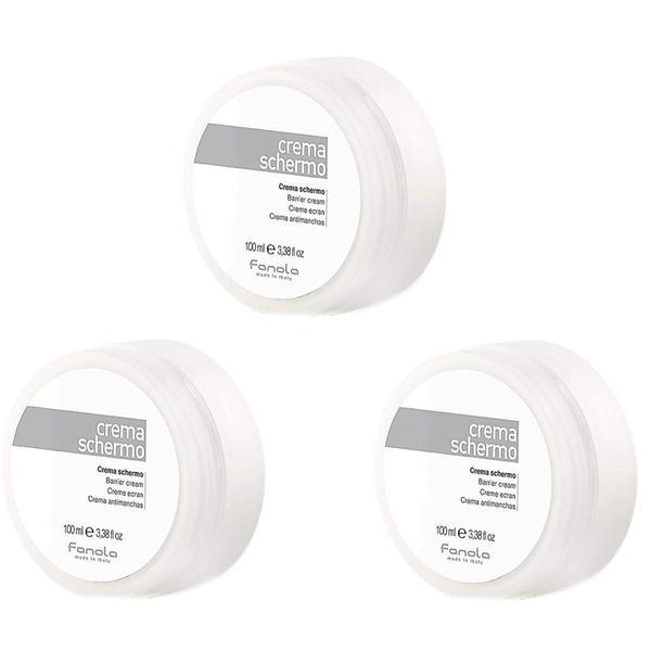Pachet 3 x Crema Bariera de Protectie - Fanola Barrier Cream, 150ml imagine produs