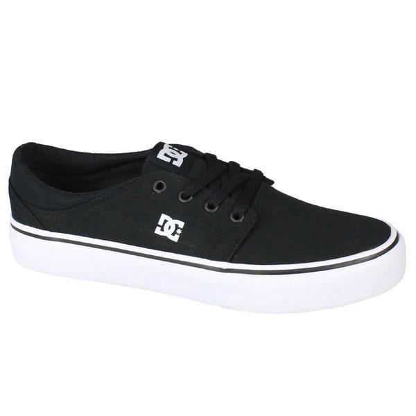 Tenisi barbati DC Shoes Trase Tx M ADYS300126-BKW, 46, Negru