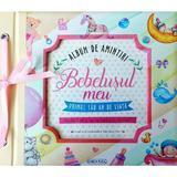 Album de amintiri: Bebelusul meu (roz), editura Girasol