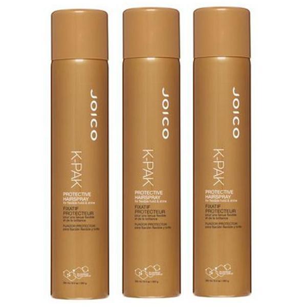 Pachet 3 x Fixativ K-Pak Protective HairSpray Joico, 300ml imagine produs