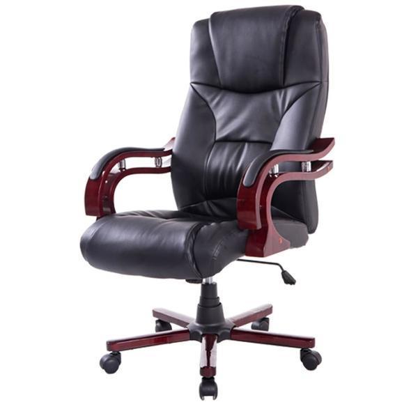 Scaun directorial, ergonomic, Negru, 921-015BK – Homcom