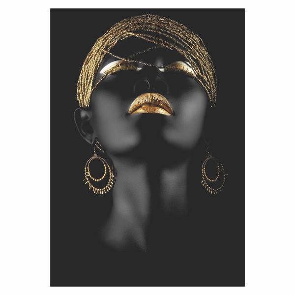 Tablou Canvas Gold Splash, 40 X 60 Cm, 100% Poliester