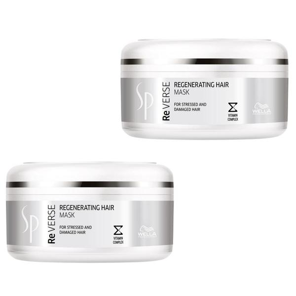 Pachet 2 x Masca Regeneranta pentru Par Wella Professionals SP Reverse Regenerating Hair Mask, 150 ml imagine