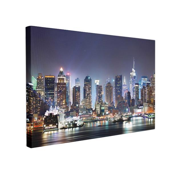 Tablou Canvas NYC Times Square, 70 x 100 cm, 100% Poliester