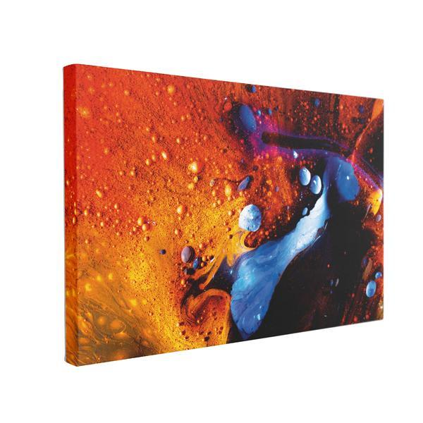 Tablou Canvas Abstract Red, 40 x 60 cm, 100% Bumbac