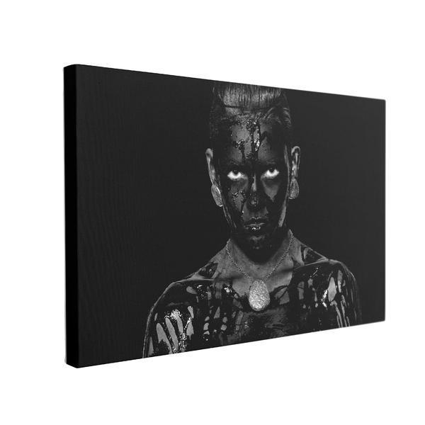 Tablou Canvas Black Body, 50 x 70 cm, 100% Poliester