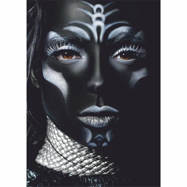 Tablou Canvas Woman Portrait, 70 x 100 cm, 100% Bumbac