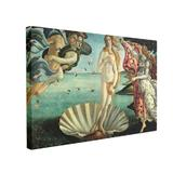 Tablou Canvas Birth of Venus, 40 x 60 cm, 100% Bumbac